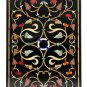 Size 2'x4' Marble Dining Table Top With Stand Inlay Mosaic Art Home