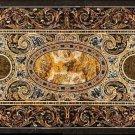 Size 2.5'x5' Marble Dining Table Top Pietradure Inlay Mosaic Art Decor Furniture