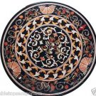 Size 3'x3' Marble Dining Center Table Top Rare Inlay Pietradure Arts Home Decor