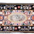 """Size 30""""x60"""" Marble Center Dining Table Top Mosaic Inlay Scagliola Art Home Deco"""