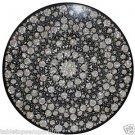 Size 3'x3' Marble Dining Table Top Mother of Pearl Stone Pietradure Inlay Work