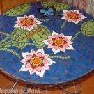 "Size 30""x30"" Marble Coffee Table Top Rear Inlay Mosaic Pietradure Deco Furniture"