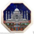 Size 1'x1' Marble End Coffee Table Top Rare Inlay Tajmahal Mosaic Home Decor