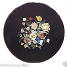 Size 2'x2' Marble Center Coffee Table Top Marquetry Mosaic Floral Home Decor