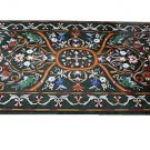 4'x2' Marble Dining Table Top Rear Inlay Mosaic Grand Pietradure Home Decorative