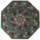 Size 2'x2' Marble Coffee Table Top Hakik Marquetry Pietra Dura Christmas Gifts