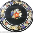 Size 2'x2' White Marble Side Coffee Table Top Mosaic Inlay Marquetry Christmas