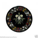 Size 2'x2' Marble Center Coffee Table Top Inlay Gem Mosaic Floral Home Decor