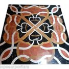 "Size 36""x36"" Marble Dining Center Table Top Mosaic Inlay Pietradure Arts Decor"