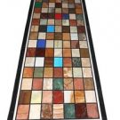 "Size 30""x60"" Marble Dining Table Top Mosaic Inlay Stones Pieteradure Home Decor"