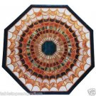 """Size 30""""x30"""" Italian Marble Center Coffee Table Top Mosaic Marquetry Inlay Work"""