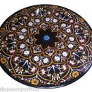 """Size 30""""x30"""" Marble Coffee Center Corner Table Top Marquetry Inlay Art Home Deco"""