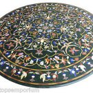 """Size 48""""x48"""" Marble Coffee Table Top Mosaic Inlay Stone Marquetry Art Home Decor"""
