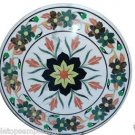 """Size 24""""x24"""" Marble Coffee Center Side Table Top Inlay Marquetry Art Garden Deco"""