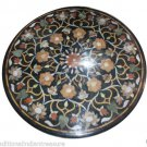 2'X2' Marble Side Coffee Table Top Rare Inlay Marquetry Gift Art Home Decor H910