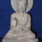 "8"" Marble Stone Buddha Goddess Figure Statue Made in India Reglious Idol Decor"