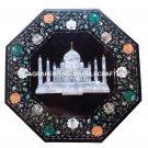 Marble Side Table Top Tajmahal Inlay Work Mosaic Beautiful Love Decorative H1722