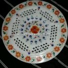 Grill Marble Serving Dish Plate Hakik Inlay Design Decorative Home Kitchen H4552