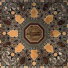 3'x6' Italian Specimen Black Marble Conference Table Top Pietra Dura Gifts Arts