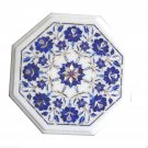 Marble Coffee Marquetry  Table Top Lapis Stone Mosaic Eid Exclusive Home Decor