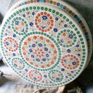 "36"" Marble Round Table Dining Room Marquetry Decor Floral Inlaid Handmade Decor"