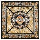 Scagliola Marble Outdoor Table Pietradura Stone Inlay Hallway Table Decor H3815