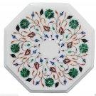 "5 PCS Wholesale Lot 12"" Marble Coffee/Sofa Table Top Pietra Dura Home Decor Art"