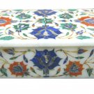 "6""x4""x2"" Marble Decorative Handmade Jewelry Box Trinket Precious Home Gift H1117"