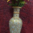 "12"" Decorative Handmade Marble Flower Vase Pot Beautiful Showcase Decor Art H700"