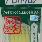 "Nikko 1.5"" CADDISFLY, cream, scented, floating soft bait"