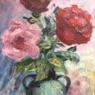 "Oil Painting—Love—Fine Art Oil Painting On Canvas-Size: 12"" x  8"" (30 cm x 20 cm)"