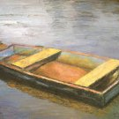 "Oil Painting—Boat—Fine Art Oil Painting-Size: 12"" x  16"" (30 cm x 40 cm)"