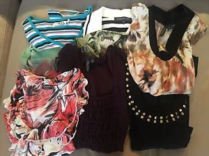 Woman's clothing-8 tops size 2X used very good condition