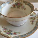 Vintage Noritake Occupied Japan Mystery Pattern Cup and Saucer Set