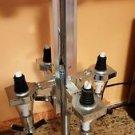 Revolving 4-Station Liquor Dispenser ~ Bar Countertop Cocktail Bottle Carousel