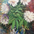 "Oil Painting—Peonies—Nature Fine Art Oil Painting- Size: 20"" x  20"" (50 cm x 50 cm)"