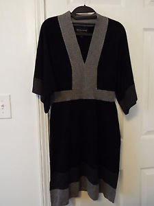 connected apparel size small s colorblock kimono sweater dress
