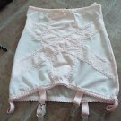 Revival Lingerie baby pink retro girdle garter belt