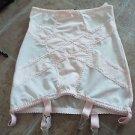 Revival Lingerie baby pink retro girdle garter belt