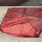 set of 3 scarves hijabs tichel red ombre gold chevron metallic