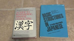 Basic Structures in Japanese & A Guide to Remembering Japanese