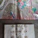 set of two silk fukuro obi kimono # 1