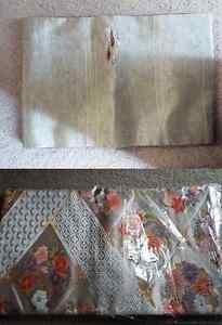 set of two silk fukuro obi # 2
