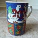 Dunoon Winter Wonderland Christmas collectible mug Jane Brookshaw