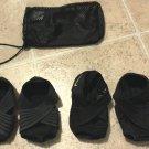 2 Nike studio wraps neoprene nylon size xs + mesh bag