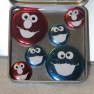 Elmo & Cookie Monster Foil Magnet Set