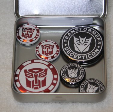 Transformer Foil Magnet Set