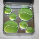 Tennis Ball Foil Magnet Set