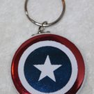 Captain America Shield Foil Keychain