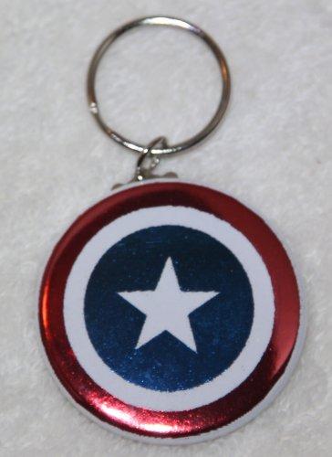 Captain America Shield Foil Keychain